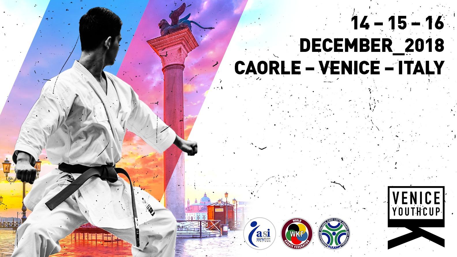 Fijlkam Karate Calendario Gare 2020.Asi Venetoasi Organizza 27 Venice Cup Gara Internazionale