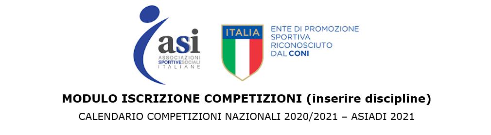 DPCM 3 novembre 2020: eventi e competizioni ASI di interesse nazionale – modalità